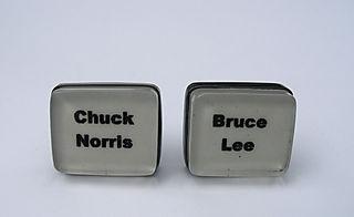 bruce lee cufflinks kswjewellery