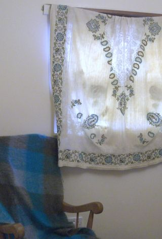 Antique curtain