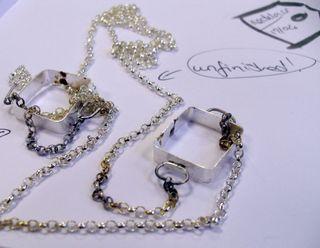 Jewellery in progress